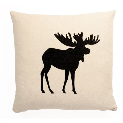Central Jefferson Icon Moose Square Throw Pillow LOPK1510 40157297