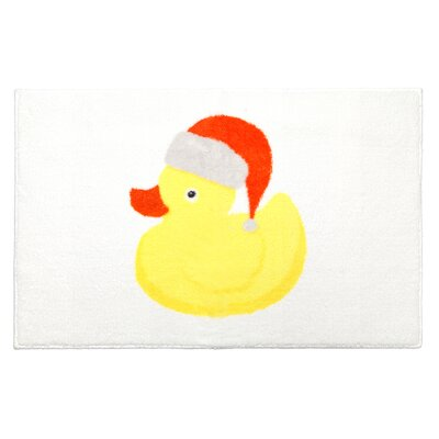Christmas Ducky Bathroom Rug