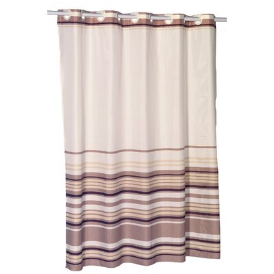 EZ-ON� Stripes Shower Curtain