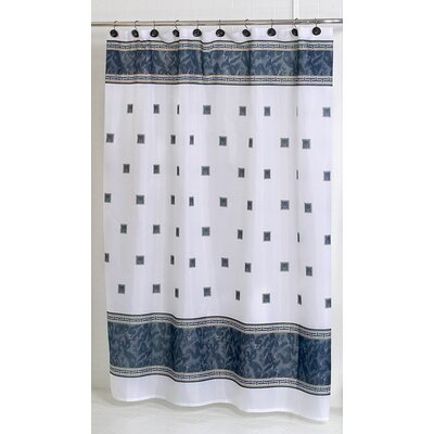 Billings Shower Curtain Color: Black