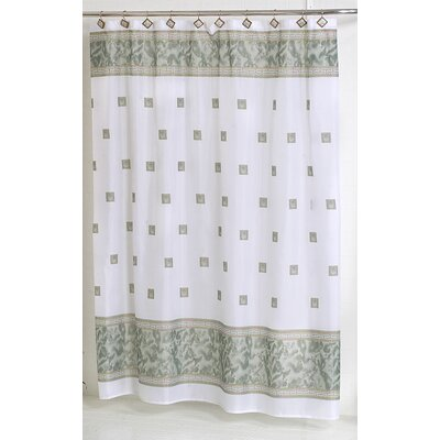 Billings Shower Curtain Color: Jade