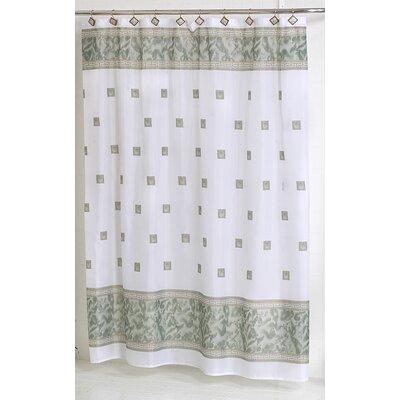 Windsor Shower Curtain Color: Jade