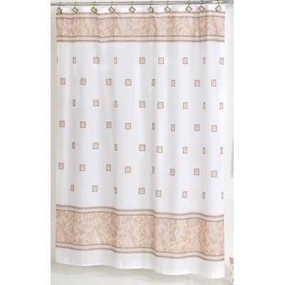 Billings Shower Curtain Color: Ivory