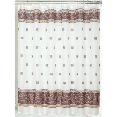 Billings Shower Curtain Color: Brown