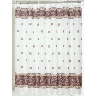 Windsor Shower Curtain Color: Brown