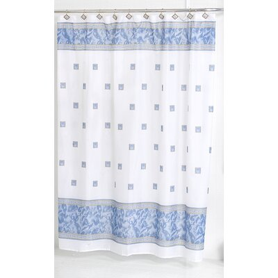 Billings Shower Curtain Color: Slate