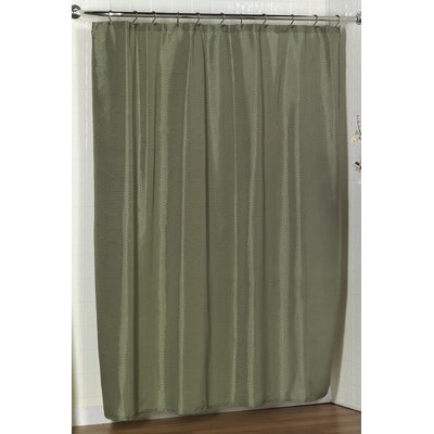 Parish Dobby Shower Curtain Color: Sage