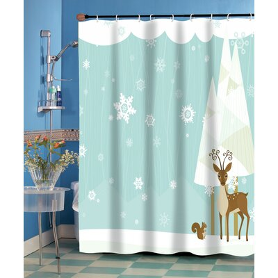 Forest Friends Shower Curtain
