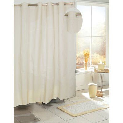 EZ-ON� PEVA Shower Curtain Color: Ivory