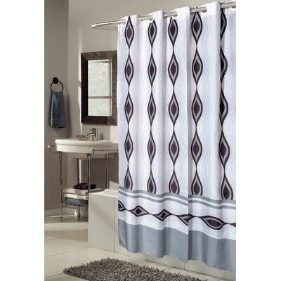 EZ-ON Harlequin Shower Curtain