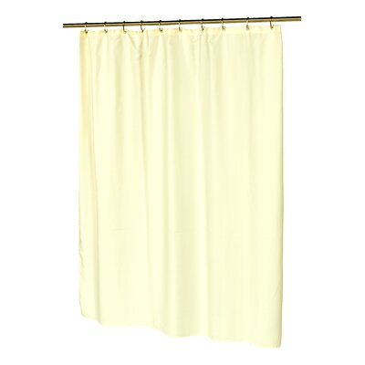 Waffle Weave Shower Curtain Color: Ivory