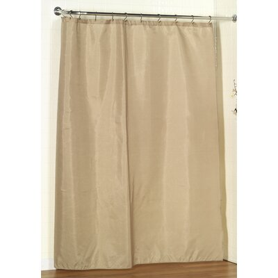 Shower Curtain Liner Color: Linen