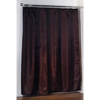 Shower Curtain Liner Color: Brown