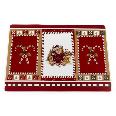 Christmas Bears Holiday Placemat