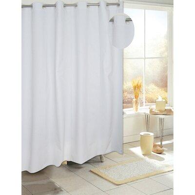 EZ-ON� PEVA Shower Curtain Color: White