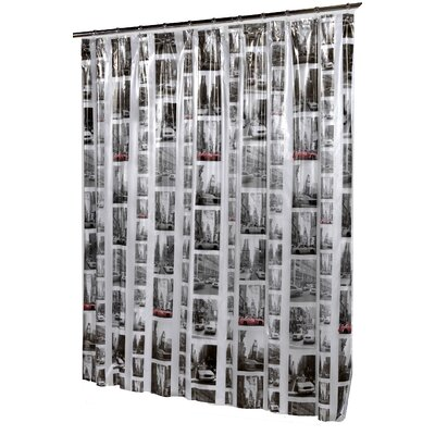 New York Vinyl Shower Curtain
