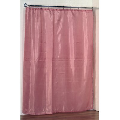 Shower Curtain Liner Color: Rose