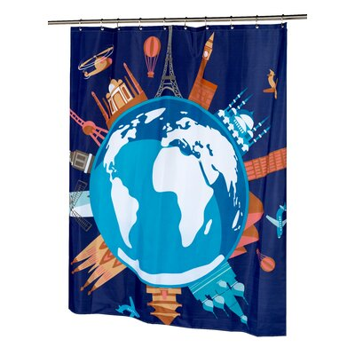 World Shower Curtain