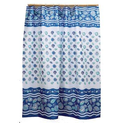 South Beach Shower Curtain Color: Light Blue
