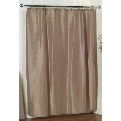 Parish Dobby Shower Curtain Color: Linen