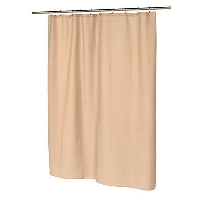 Waffle Weave Shower Curtain Color: Linen