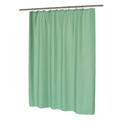 Waffle Weave Shower Curtain Color: Sage