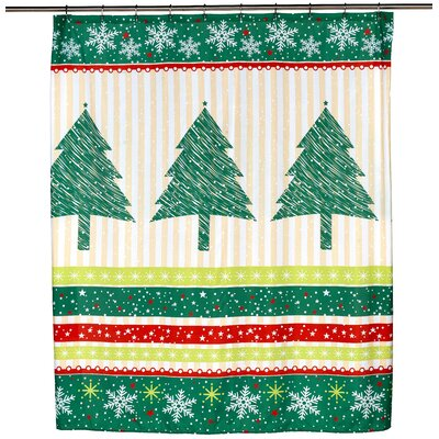 Tannenbaum Shower Curtain