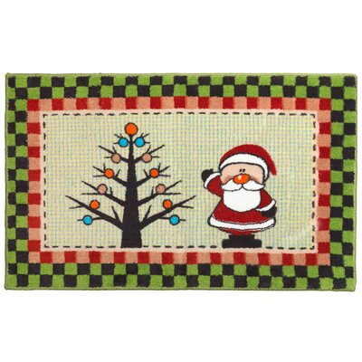 Americana Holiday Bathroom Rug