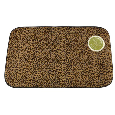 Leopard Faux Fur Bath Mat