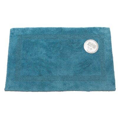 Reversible Cotton Bath Mat Size: Large, Color: Royal Blue