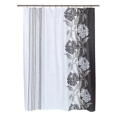 Chelsea Shower Curtain Color: Black