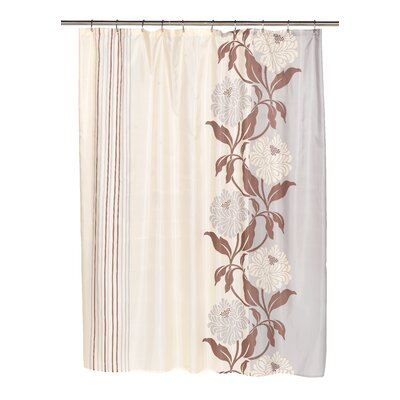 Stoneridge Shower Curtain Color: Chocolate