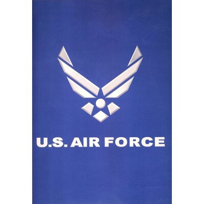 Royal Plush Extra Heavy Queen Size United States Air Force Blanket