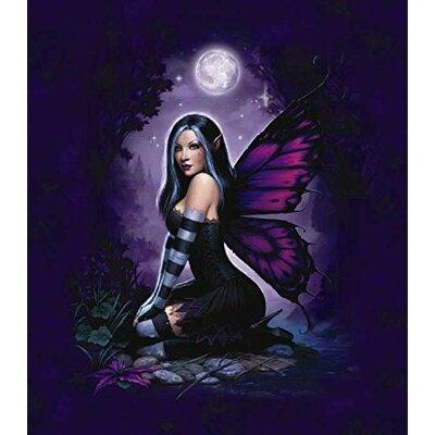 Royal Plush Extra Heavy Queen Size Moonlight Fairy Magic Blanket