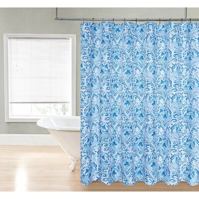 Loraine Damask Shower Curtain