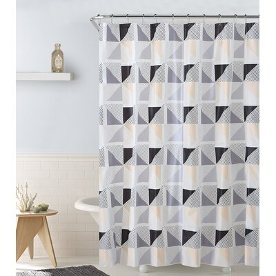 Rockport Spinning Windmill Vinyl Shower Curtain