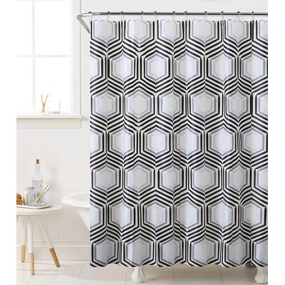 Fort Washington Honeycomb Highway Shower Curtain