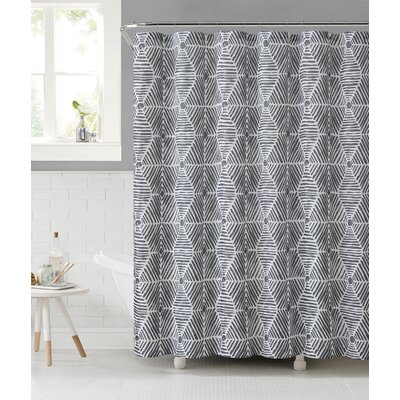 Fort Washington 3D Illusion Sailcloth Shower Curtain