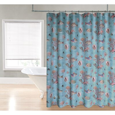 Boulder Brook Under the Sea Shower Curtain