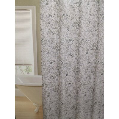 Fort Washington Leopard Swirl Shower Curtain