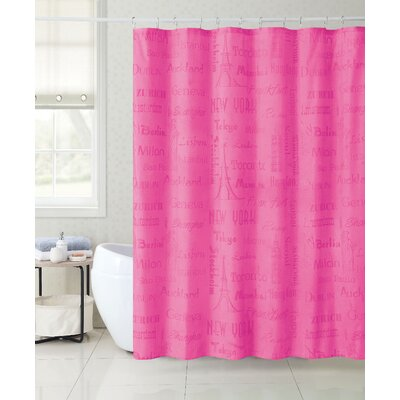 Fort Washington Magic Appearing Landmark Cities Shower Curtain