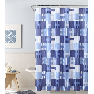 Fort Washington Perpendicular Paradise Shower Curtain