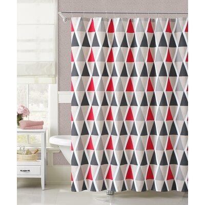 Jemima Triangular Optics Shower Curtain