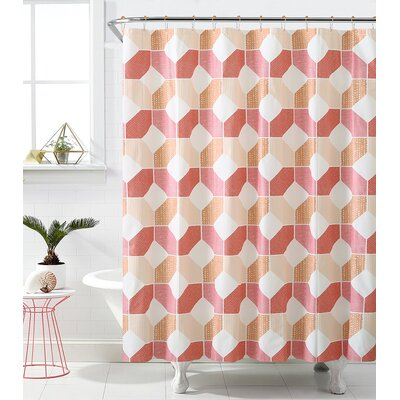 Rockport Hexagonal Heaven Shower Curtain