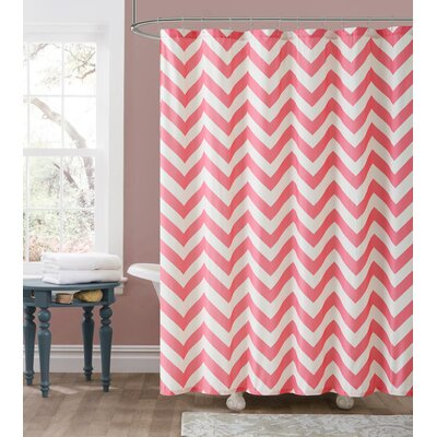 Fort Washington Chevron Embossed Shower Curtain