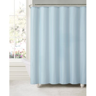Royal Bath Water and Mildew Resistant Shower Curtain Color: Sky Blue V-3573207219