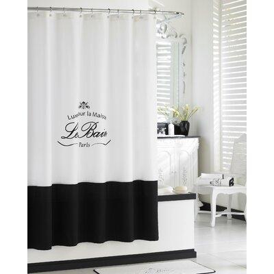 Noeline Paris Connection Le Bain Cotton Shower Curtain
