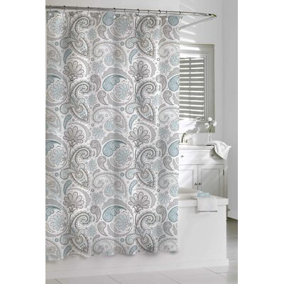 Cogar Paisley 100% Cotton Shower Curtain