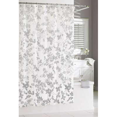 Oakley Floral Ombre Cotton Shower Curtain