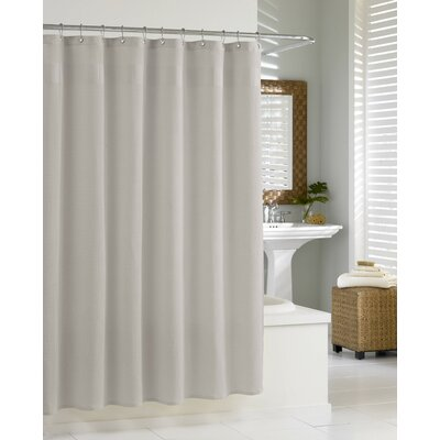 Oakley Extra Heavy Hotel Quality Cotton Shower Curtain Color: Grey